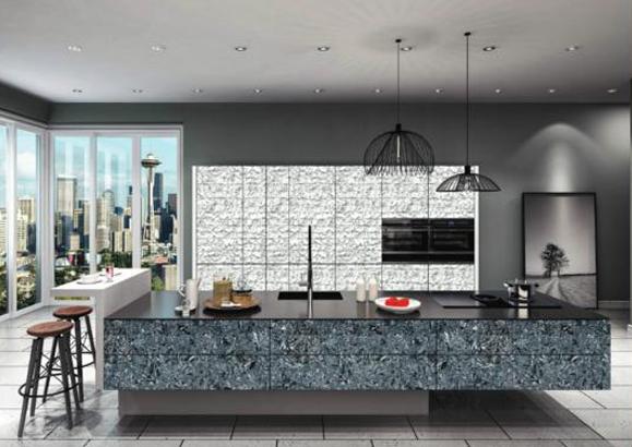 cocina decoración interiorismo panel decorativo
