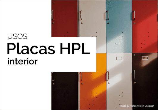 Paneles HPL, que tipos de usos hay.