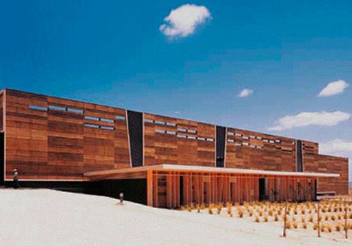 revestimiento exterior muro edificios madera