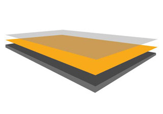 laminado compacto exterior hpl color amarillo