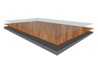 revestimiento exterior para casas y edificioshpl textura madera