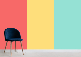 revestimiento pared interior colores planos hpl